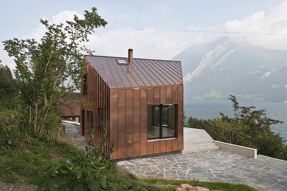 Luthi Schmid Architekten Luzern Ferienhaus Triangel